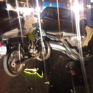 خمام - یک مصدوم در جریان برخورد موتورسیکلت با پژو پارس
