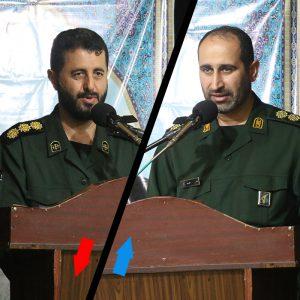 خمام - سرهنگ نادر حامدی بهعنوان فرمانده جدید سپاه ناحیه مقداد معارفه شد
