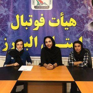 خمام - سارا قمی با هیات فوتبال البرز تمدید کرد / زهرا معصومی به جمع البرزیها پیوست