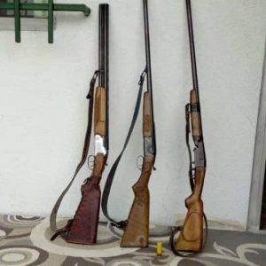 خمام - ۳ قبضه اسلحه در چوکام کشف و ضبط شد