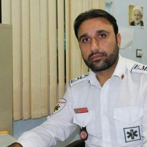 خمام - مسعود رشیدی بهعنوان یکیاز پرستاران نمونه استان انتخاب شد