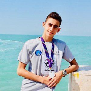 خمام - رامان غفاری به مسابقات گزینشی تیم ملی شنا دعوت شد