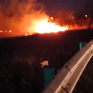خمام - ۱۱ فقره حریق باغ و علفزار مهار شد