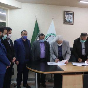 خمام - قرارداد فاز دوم از طرح سرپوشیدهکردن رودخانه در خیابان حافظ منعقد شد
