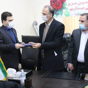 خمام - سیدمحمد علوی سرپرست بخشداری چوکام شد