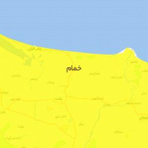 خمام - رنگبندی شهرستان خمام در نوروز ۱۴۰۰ «زرد» اعلام شد