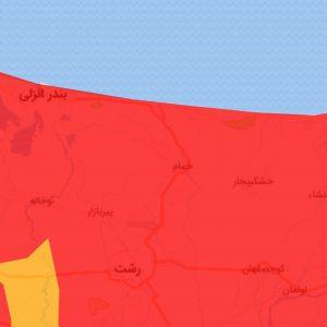 خمام - وضعیت کرونایی شهرستان خمام قرمز شد