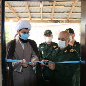 خمام - ۲ ساختمان حوزه مقاومت بسیج و ۱ سالن ورزشی افتتاح شد