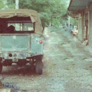 خمام - نماییاز خیابان بوعلی در دهه شصت