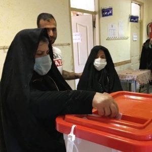خمام - حضور مردم خمام پای صندوقهای رای