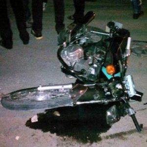 خمام - تصادف ۲۰۶ با موتورسیکلت یک کشته برجای گذاشت