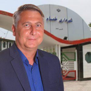 خمام - محمدرضا رمضانیپور سرپرست شهرداری شد