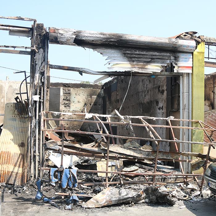 مسوولان وضعیت آتشنشانی را دریابند