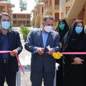 خمام - ۴ پروژه عمرانی در هفته دولت افتتاح شد