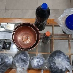 خمام - بیشاز ۲ کیلوگرم تریاک کشف و ضبط شد