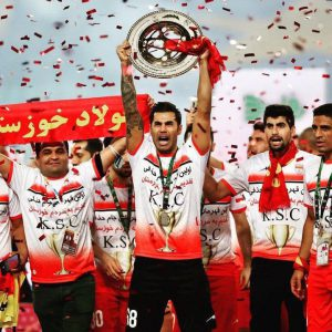 خمام - محسن فروزان از فولاد خداحافظی کرد