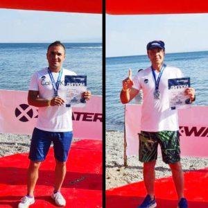 خمام - شناگران خمامی در تورنمنت بینالمللی به ۲ مدال رنگارنگ دست یافتند