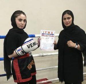 خمام - مهسا رفیعی در رقابتهای مویتای گیلان به مدال طلا دست یافت