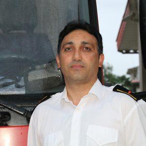 خمام - انجام ۱۵۵ ماموریت آتشنشانی در ششماهه نخست امسال