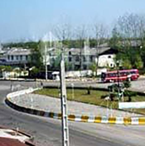 تصویری قدیمیاز ورودی شهر خمام