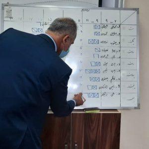 خمام - اعضای شورای بخشهای مرکزی و چوکام مشخص شدند