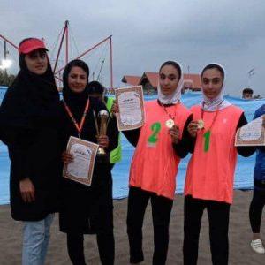 خمام - تیم وحدت تختی در مسابقات والیبال ساحلی دختران زیر ۱۶ سال گیلان به قهرمانی رسید