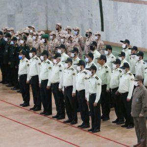 خمام - صبحگاه مشترک نیروهای نظامی در خمام برگزار شد